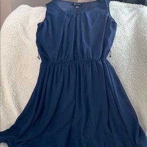 BCX navy dress, size medium